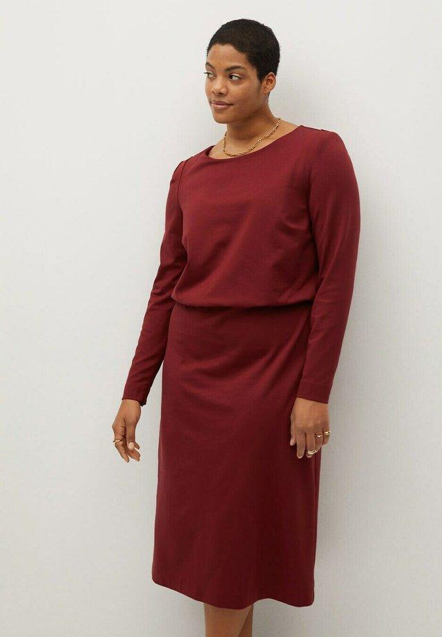SOPHIE - Sukienka z dżerseju - granatrot