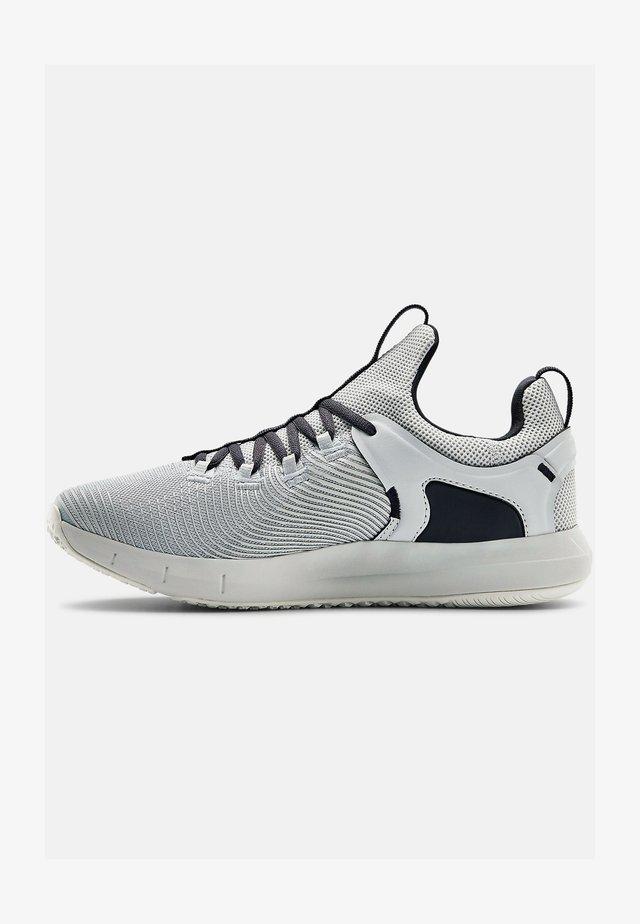 UA HOVR RISE - Sportschoenen - halo gray