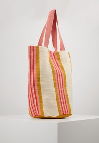 Seafolly - CARRIEDAWAYSTRIPE CYLINDER TOTE - Beach accessory - saffron - 3