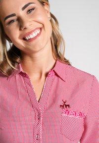 Spieth & Wensky - NEST - Button-down blouse - red - 2