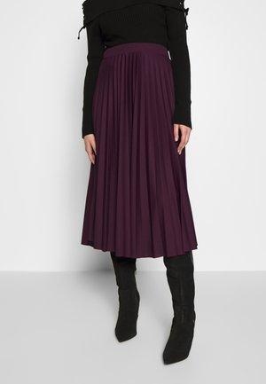 Jupe trapèze - purple