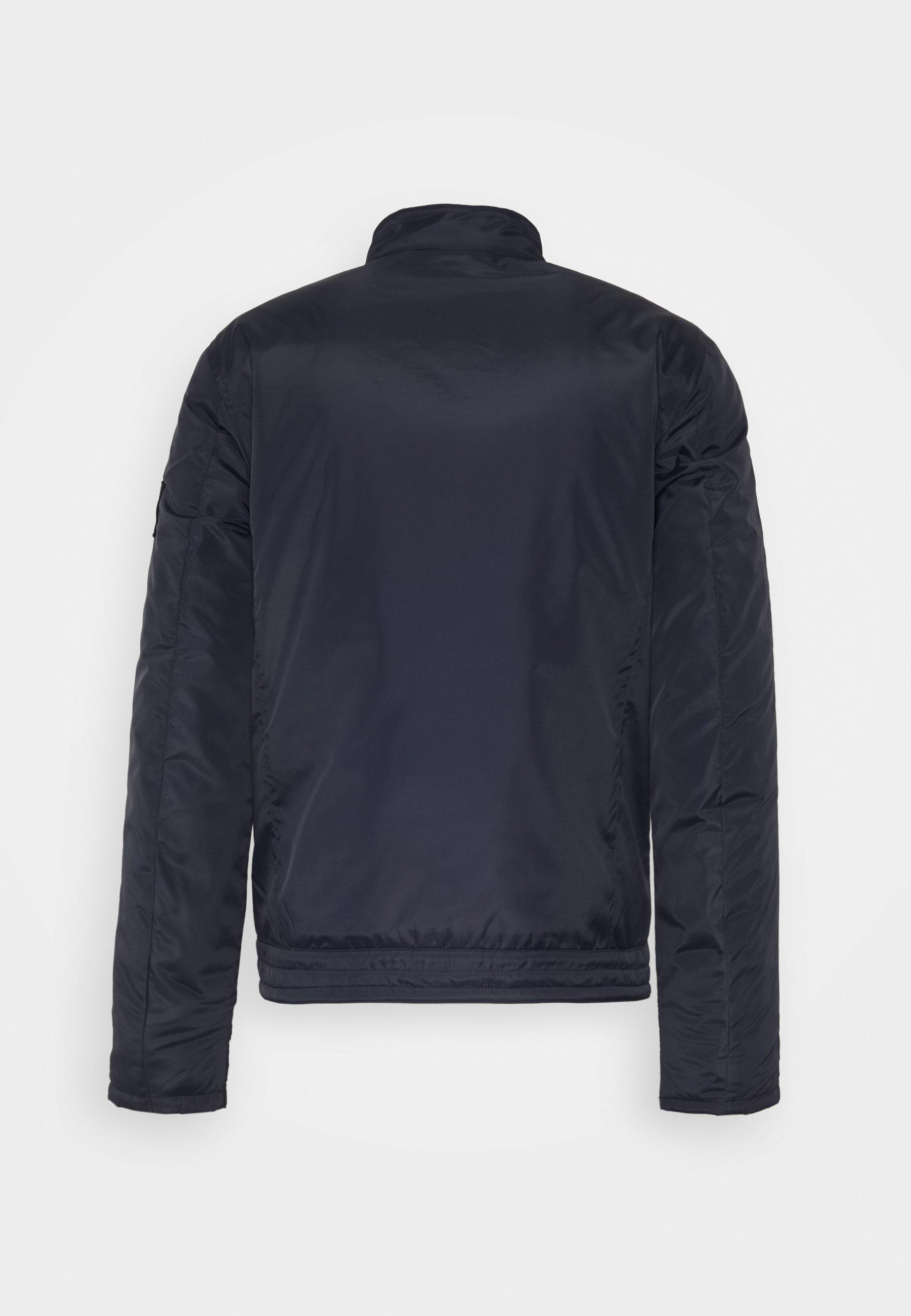 Calvin Klein Jeans Padded Moto Jacket - Kurtka Przejściowa Night Sky