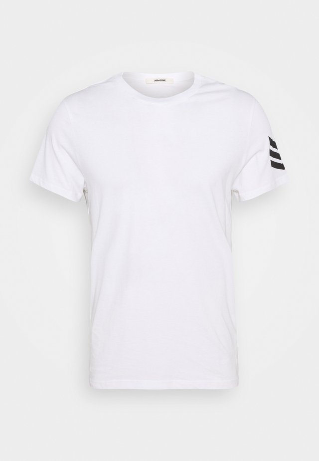 TOMMY ARROW - T-shirts print - white