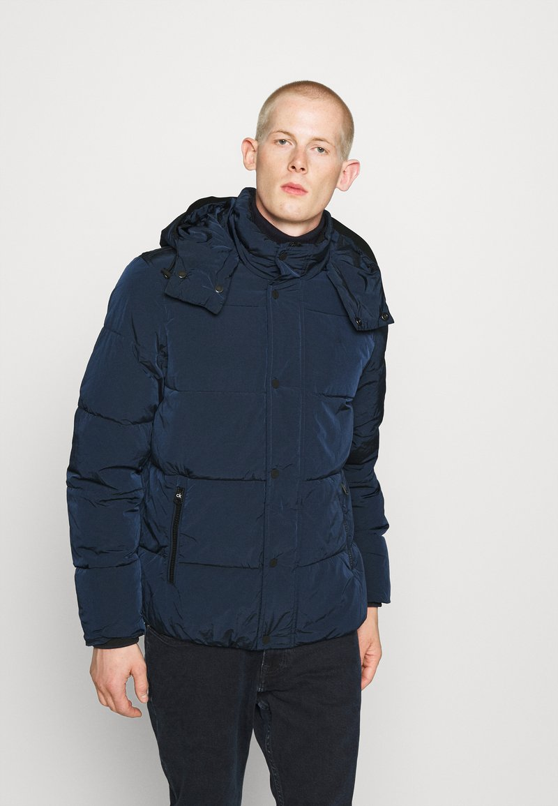 Calvin Klein - CRINKLE  - Winter jacket - blue