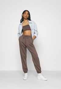 Missguided - SET - Top - brown - 1