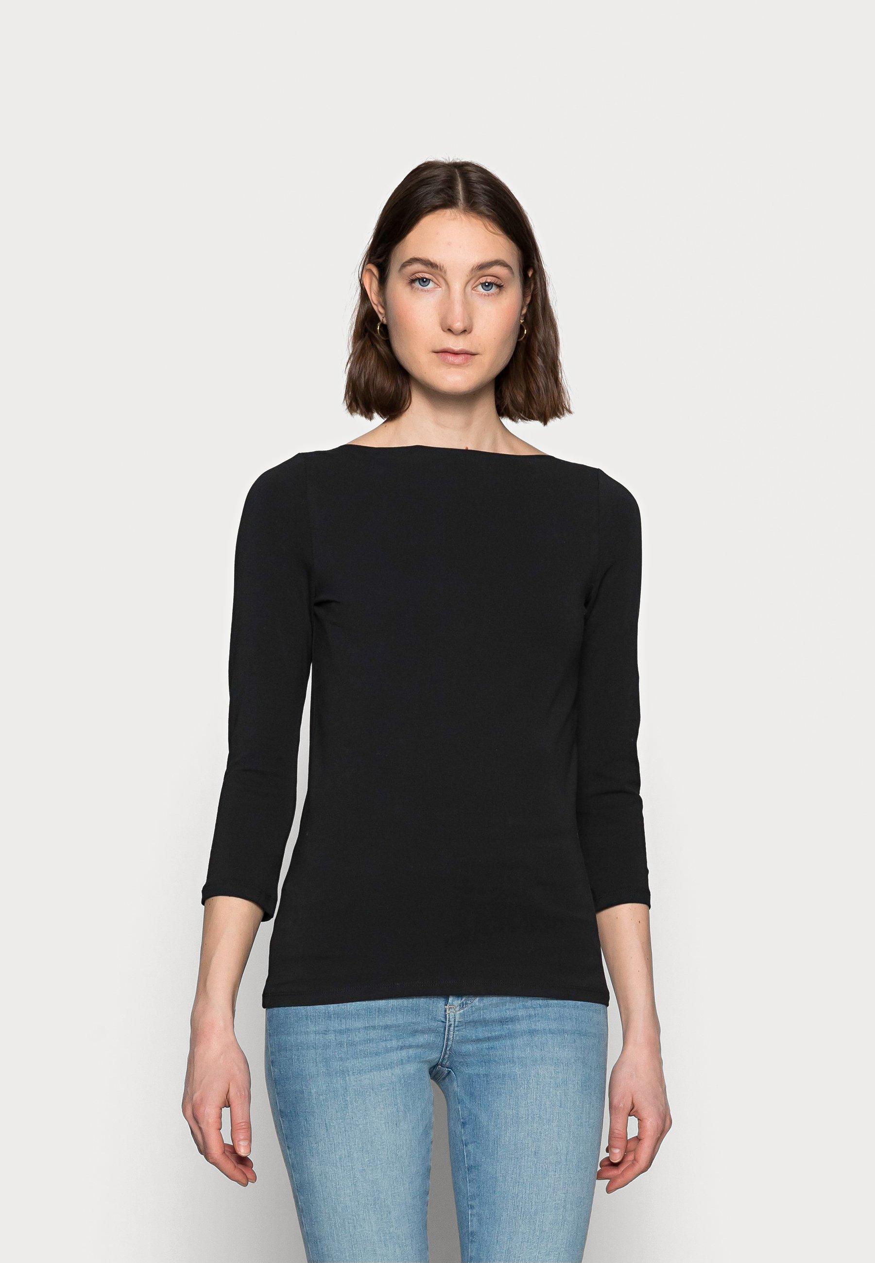 Femme ONLLIVE LOVE 3/4 BOATNECK - T-shirt à manches longues