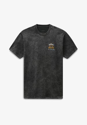MN BEYOND THE VALLEY ZL S/S - T-shirt con stampa - black
