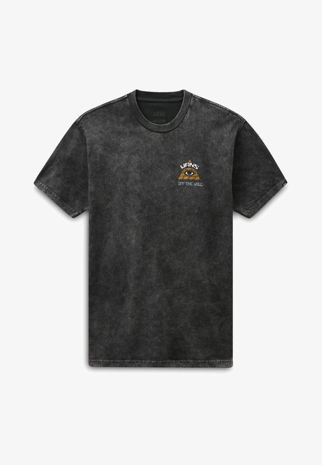 MN BEYOND THE VALLEY ZL S/S - T-shirt imprimé - black