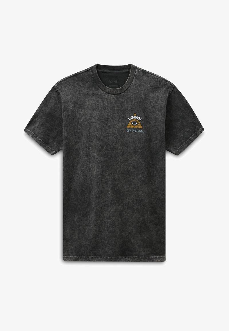 Vans - MN BEYOND THE VALLEY ZL S/S - Print T-shirt - black