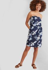 Next - BOOBTUBE  - Day dress - dark blue - 1