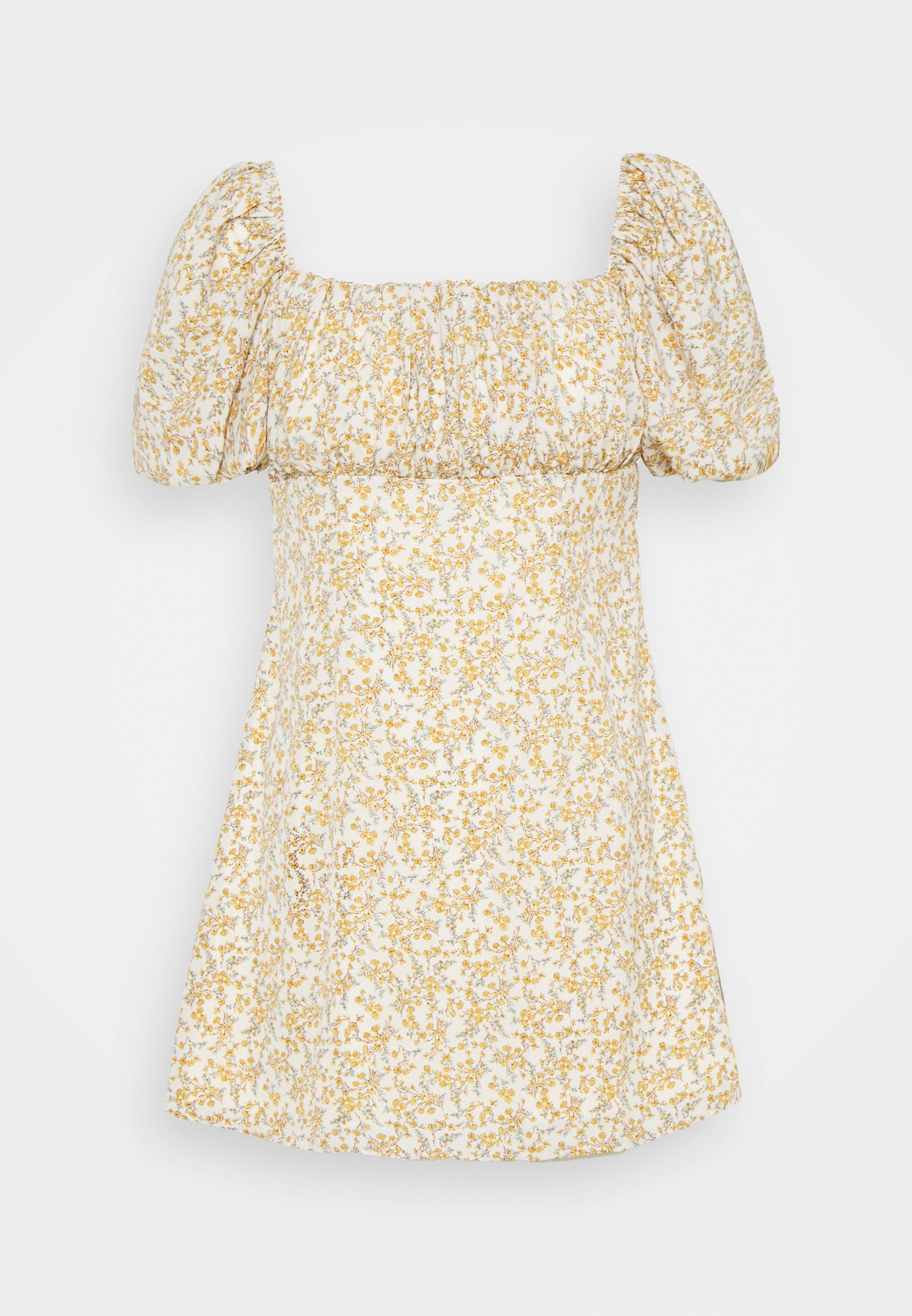 Women RUCHED BUST DRESS FLORAL - Day dress
