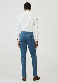Mango - Pantalon de costume - sky blue - 1