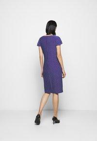 Lauren Ralph Lauren - PRINTED MATTE DRESS - Shift dress - french ultramarin - 2