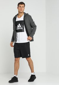 adidas Performance - KRAFT AEROREADY CLIMALITE SPORT SHORTS - Korte broeken - black - 1