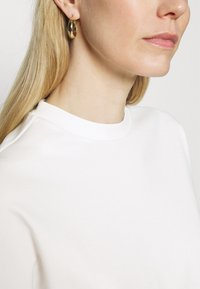 Marc O'Polo - LONG SLEEVE HIGH NECK - Long sleeved top - paper white - 4