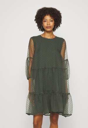 KATERINA DRESS - Cocktailjurk - beetle green