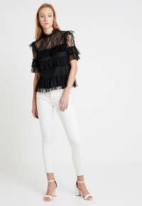 By Malina - RACHEL BLOUSE - Bluser - black - 1