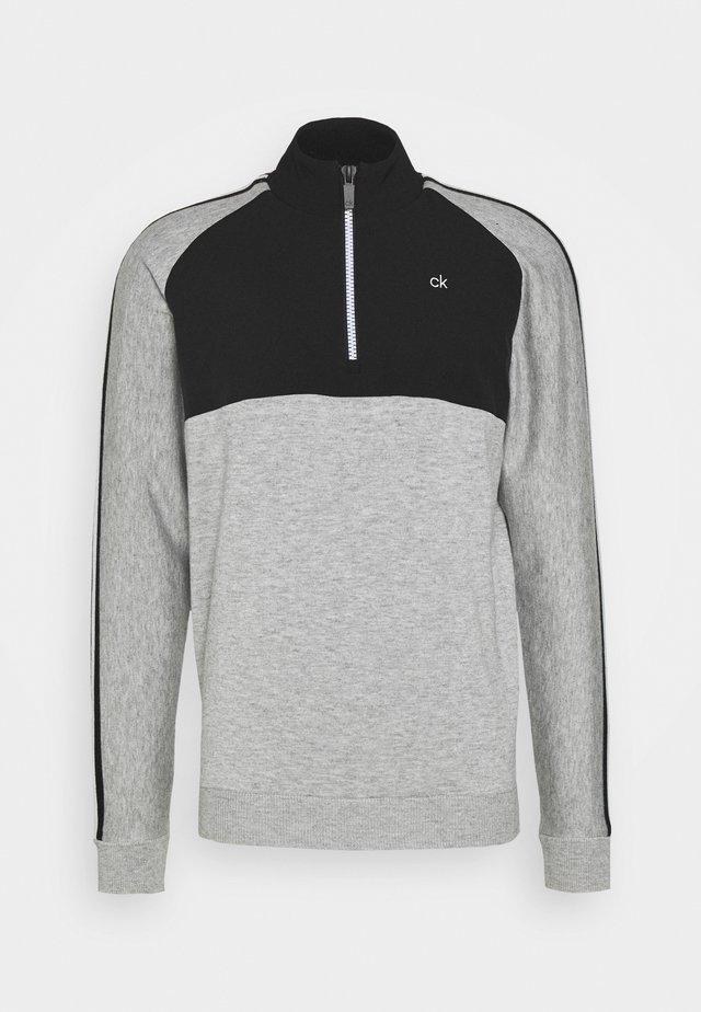 GLACIER HALF ZIP - Pullover - grey marl