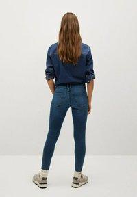 Mango - ISA - Jeans Skinny Fit - diep donkerblauw - 2