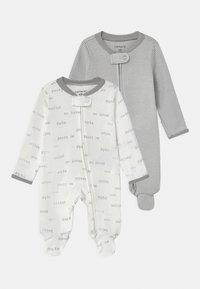 Carter's - 2 PACK UNISEX - Sleep suit - white - 0