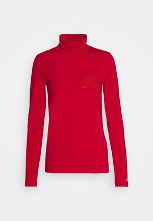 ICON SLIM ROLL NECK - Topper langermet - primary red