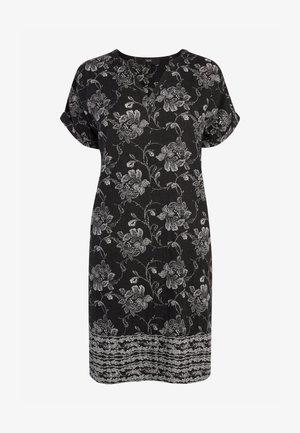KAFTAN  - Day dress - mottled black