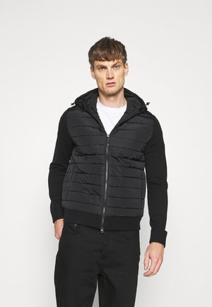 PIERRE HYBRID JACKET - Light jacket - black