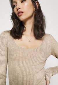 Even&Odd - BODYSUIT - Sweter - dark tan