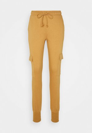 VMMERCY PANT - Tracksuit bottoms - tobacco brown