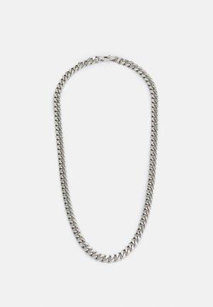 CURB UNISEX - Halsband - silver-coloured shiny