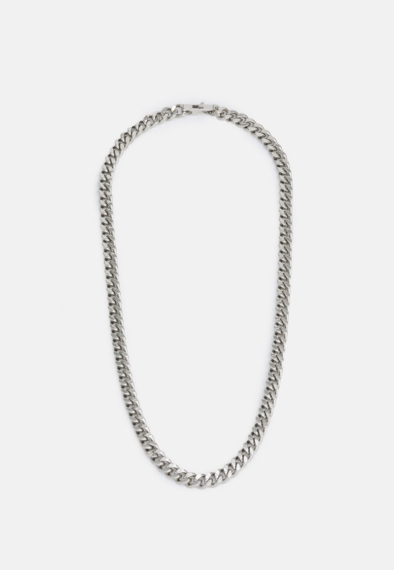 Guess - CURB UNISEX - Necklace - silver-coloured shiny