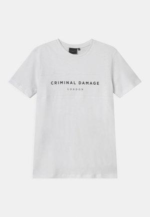 MARCUS - Print T-shirt - white