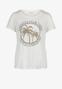 Cartoon - Print T-shirt - cream/khaki - 3