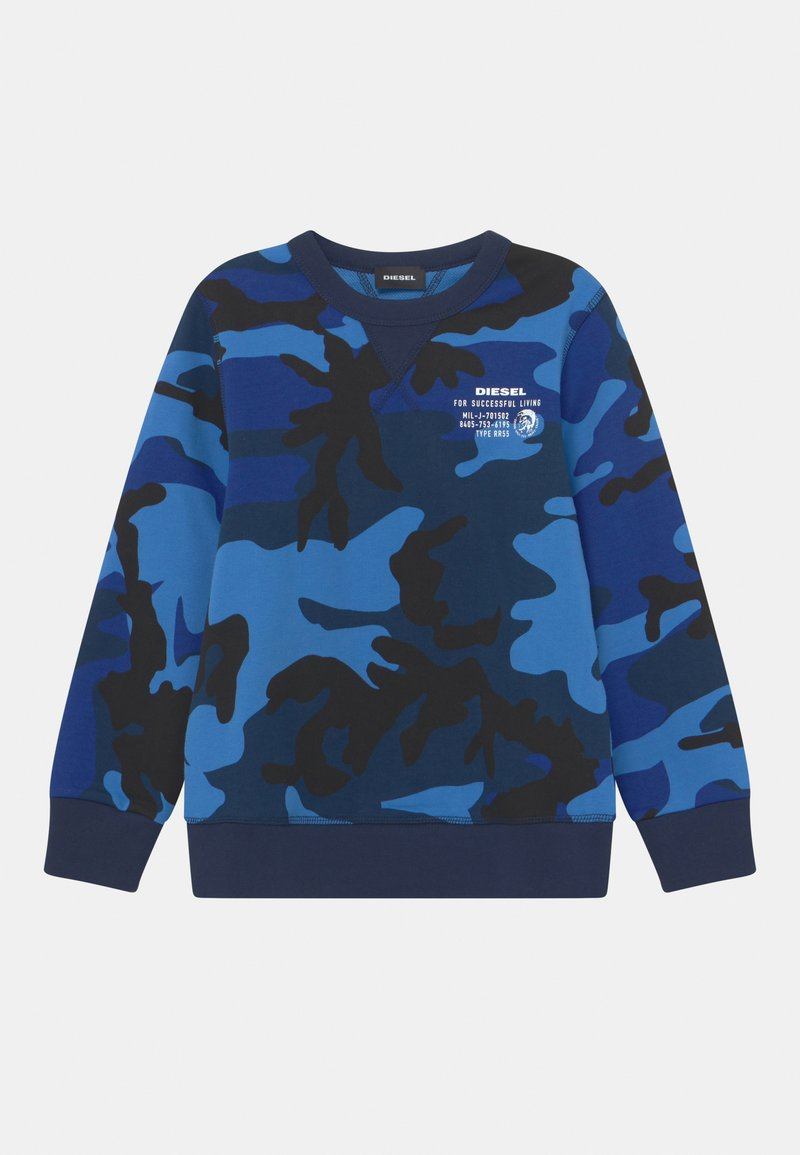 Diesel - SWILLY UNISEX - Sweatshirts - blue