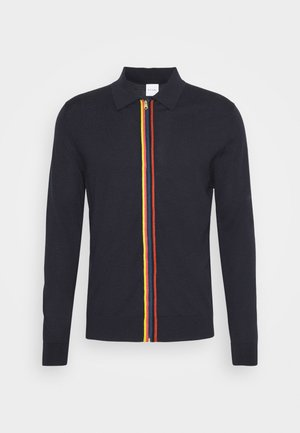 GENTS CARDIGAN ZIP THRU - Cardigan - dark blue