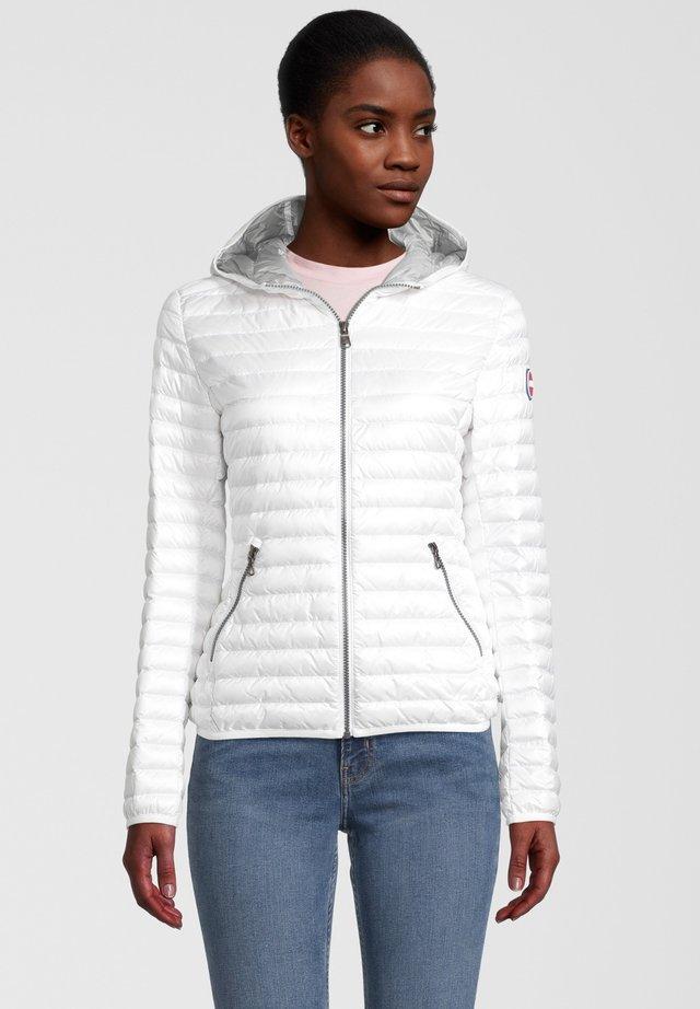 EXPOSE - Down jacket - white-light steel