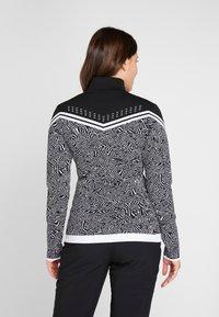 Icepeak - EMELLE - Zip-up hoodie - black/white - 2