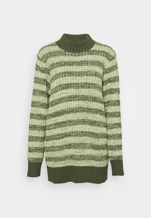 OVERSIZED - Jumper - green melange