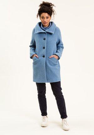 FAUNAINA - Classic coat - hellblau