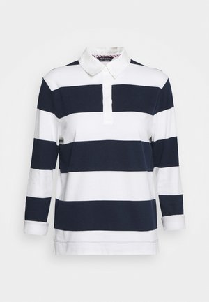 RUGBY STRIPE  - Koszulka polo - dark blue