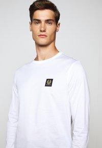 Belstaff - LONG SLEEVED  - Long sleeved top - white - 10