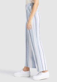 khujo - MAHSALA - Trousers - blue - 4