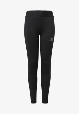 G A.R. W ASK T - Leggings - black/msilve