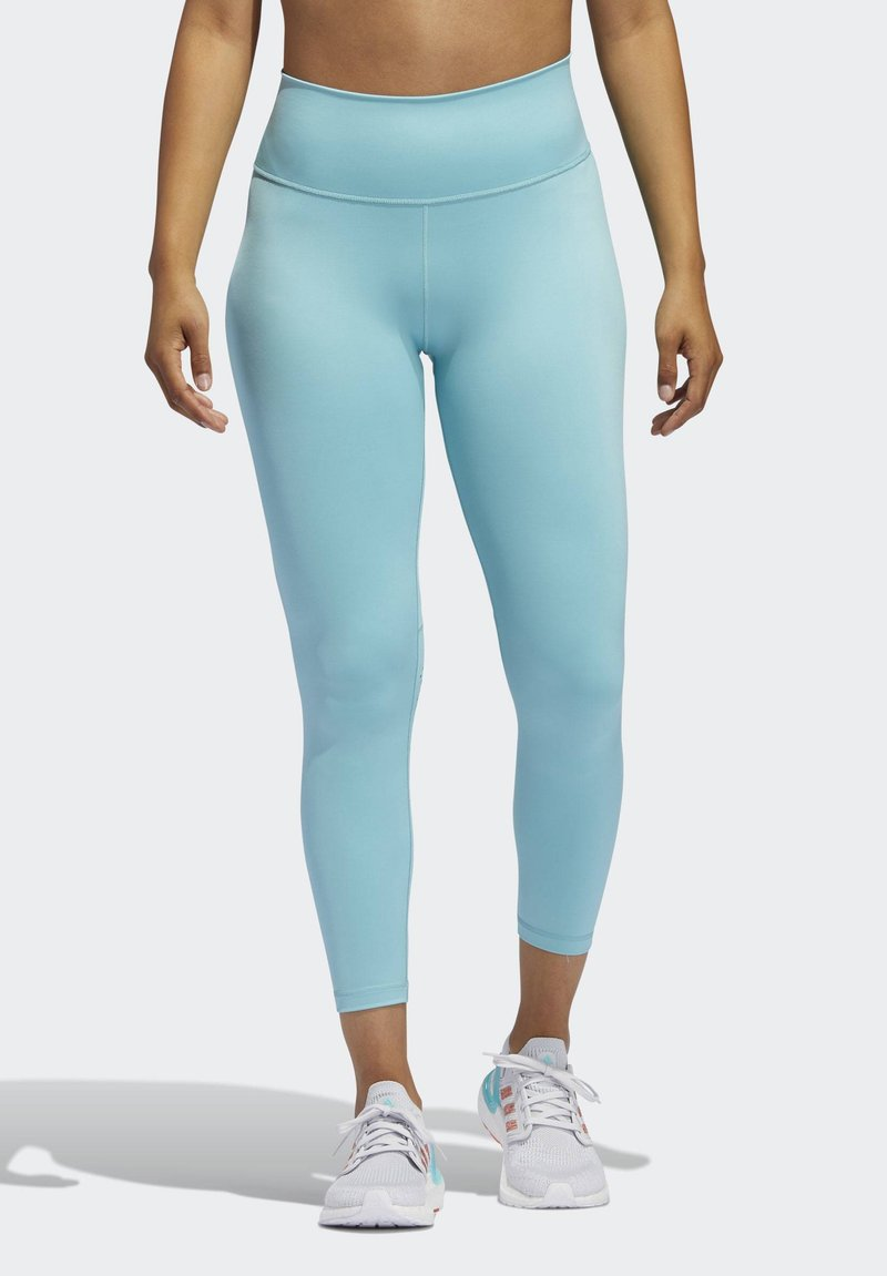 adidas Performance - BELIEVE THIS 2.0 PRIMEBLUE 7/8 LEGGINGS - Tights - blue