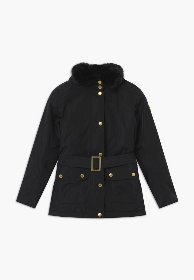 GIRLS BOWDEN - Winterjacke - black