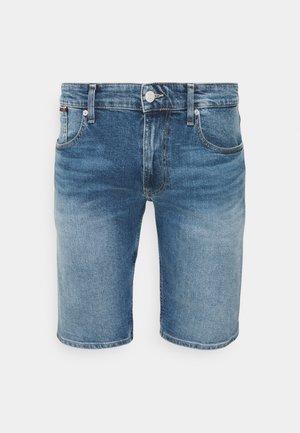 RONNIE RELAXED - Denim shorts - blue denim