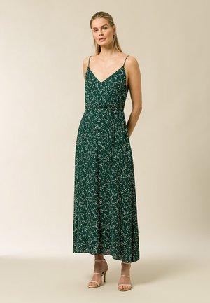 Maxi dress - aop - leaf eden green