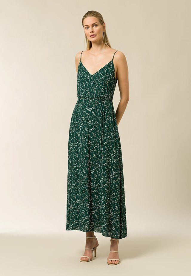 Maxi dress - aop - leaf eden green