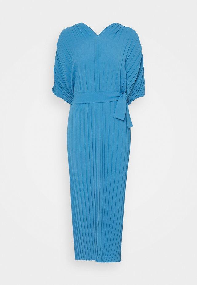 NEW JELLY DRESS PLISSE - Vestito estivo - blue