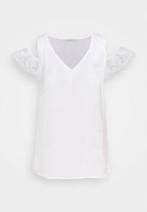 MARIAH - Bluse - true white